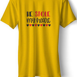 Stole My Heart Couple T-Shirts