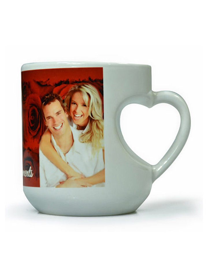 Photo Mugs ( MUG HEART)