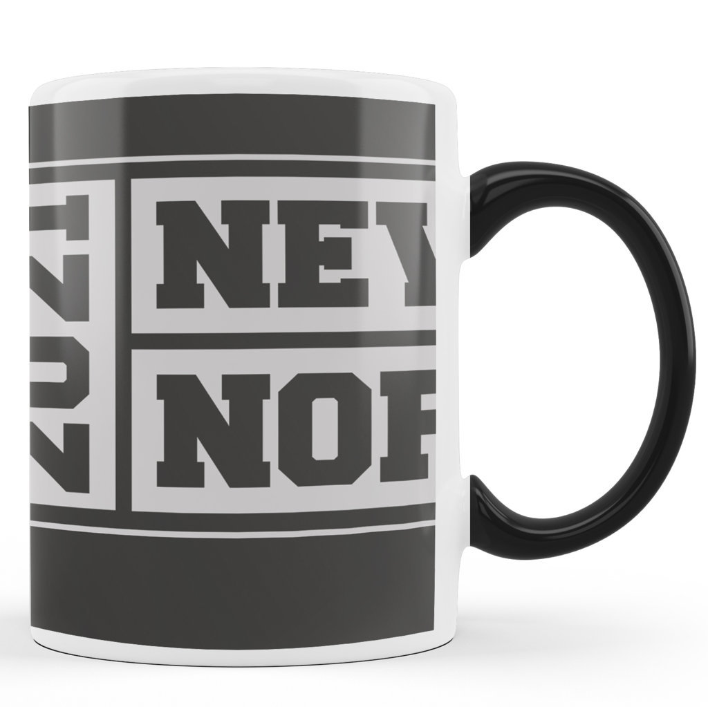 Printed Ceramic Coffee Mug | New Normal 2021 |Happy New Year 2021 Mug | 325 Ml