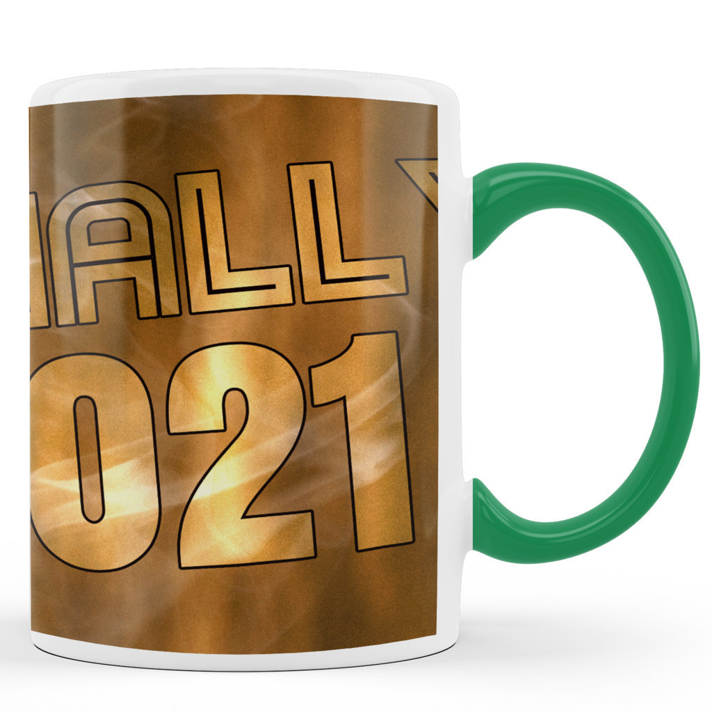 Printed Ceramic Coffee Mug | Finally 2021 |Happy New Year 2021 Mug | 325 Ml