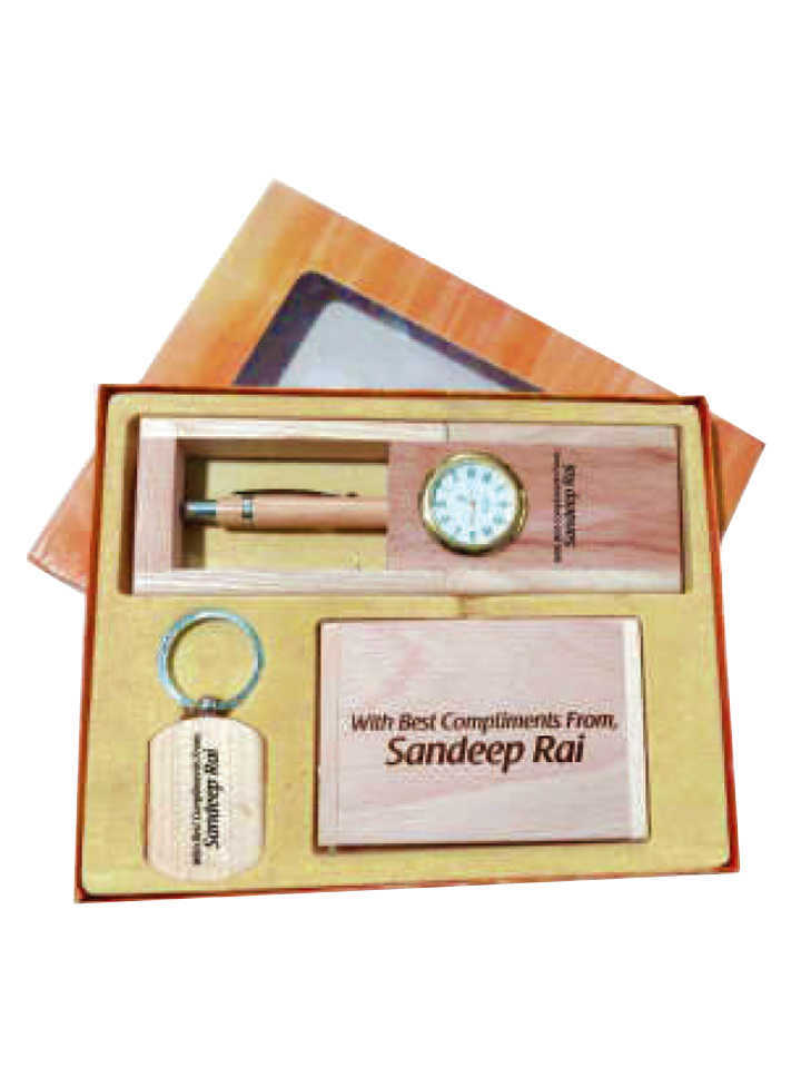 Wooden Gifts Set