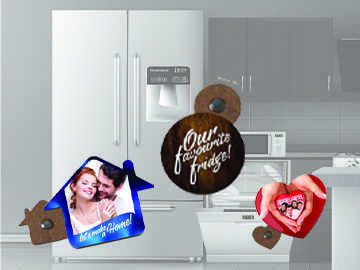 Fridge Magnet and Tag