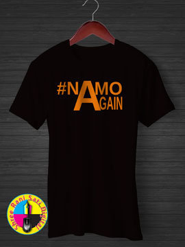 Namo Again Round Neck Cotton T-shirts