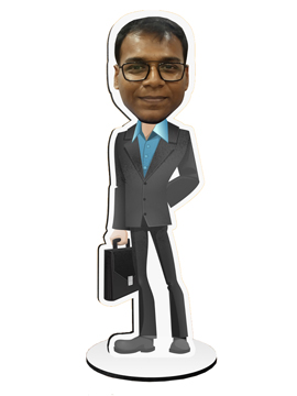 Personalised Caricatures Businessman