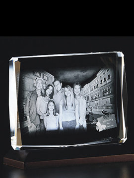 Personalised 3D Photo Crystal (1153E)