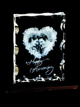 Personalised 3D Photo Crystal (1118E)