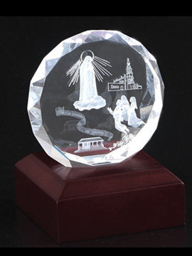 Personalised 3D Photo Crystal  (Tyb01D )