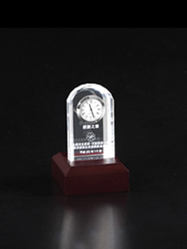 Personalised 3D Photo Crystal (Clock D)