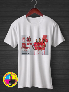 The Boys Are Back in Town Kings XI Punjab IPL T-shirt