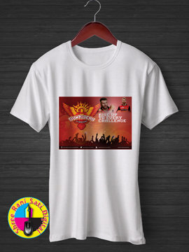 Rise Up To Every Challenge SRH IPL T-shirt