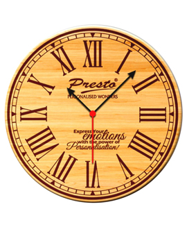 Personalised Clock With Photo Frame (WEC-2)