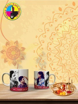Raksha Bandhany White Coffee Mug