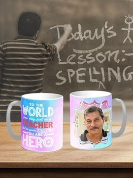 TeacherS Day White Coffee Mug