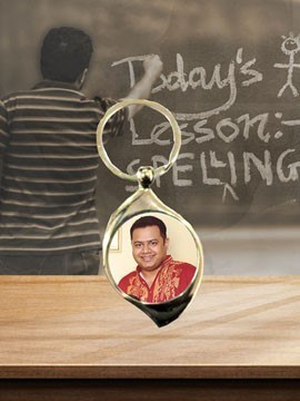 Personalised Photo Metal Keychain