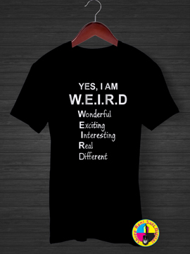 Weird Defined T-shirt.