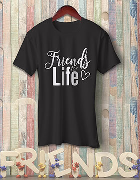 Friends For Life - Black