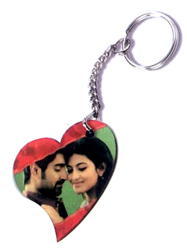 Personalised Photo Keyring (BsLCKR-VD)