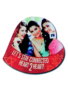FOR THOSE WHO WANT TO COMMUNICATE MATTERS OF THE HEART, THESE HARD BOARD ARE IDEAL CUPIDS