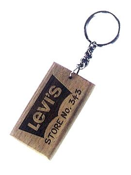 Personalised Laser Engraved Wooden Key Chain (1023)