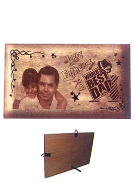 Personalised Laser Engraved Wooden   Plaque (1042SM)