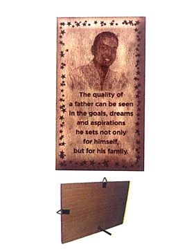 Personalised Laser EngravedWooden   Plaque (1044SM)