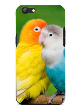 Cute Parrots Talking Mobile Cover