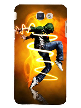 Dancing Boy With Lights Mobile Cover