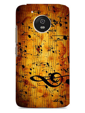 Musical Notes Mobile Cover