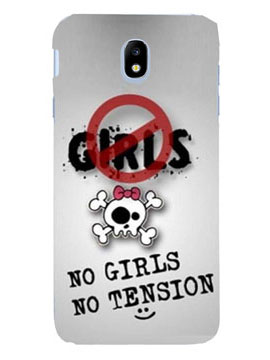 No Girls No Tension Mobile Cover