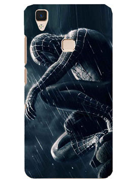 Spiderman On A Mission Mobile Cover