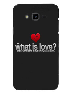 Love Re-Decoded Mobile Cover